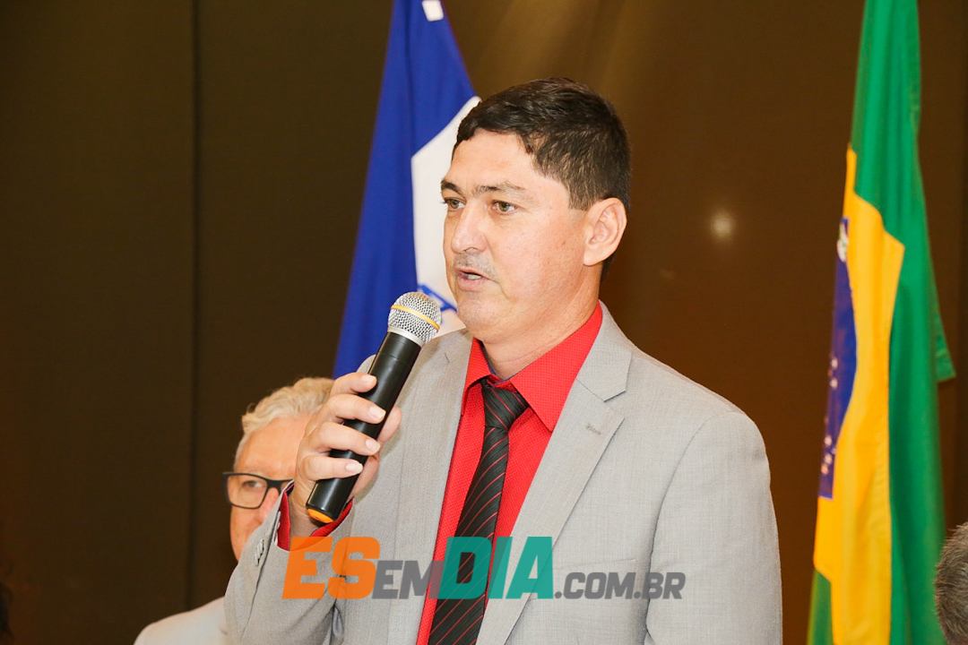 Foto: Vereador de Marataízes Carlos Dinho