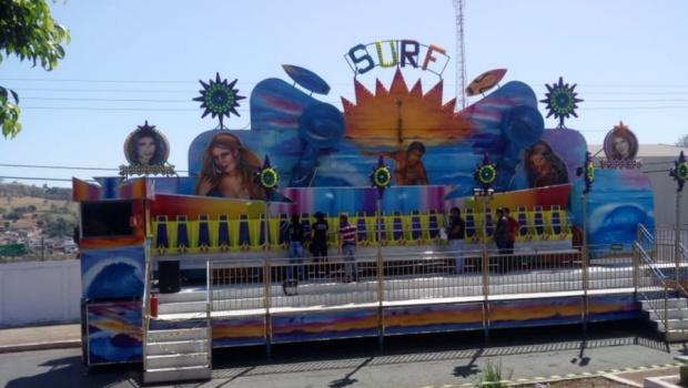 Foto: Brinquedo conhecido como surf