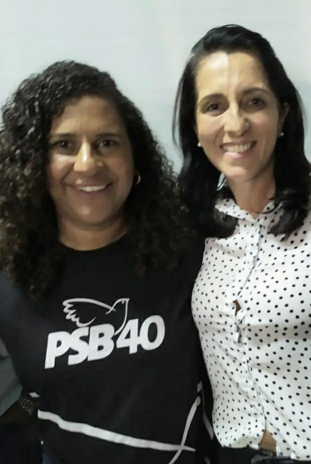 Foto: Vice governadora e Simone