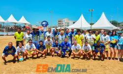 Futebol dos Artistas 2020 em Marataízes