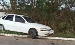 Motorista perde a direção nesta manhã na via entre Itapemirim x BR-101