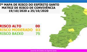 Anchieta é a única cidade da região Sul em risco moderado