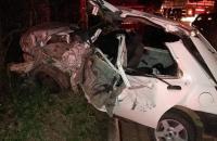 Duas pessoas morrem e duas ficam feridas em grave acidente em Cachoeiro