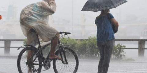 ES pode ter mais chuva com trovoadas nesta segunda-feira. Veja a previsão do tempo!