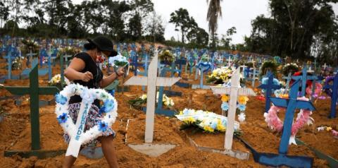 Brasil registra 3.472 óbitos e 79.719 novos casos de covid-19