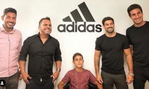 Atleta do Litoral Sul do ES, Sonny Anderson é o novo atleta patrocinado pela Adidas