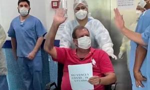 Mais de 20 pacientes recebem alta da UTI-Covid do Hospital Menino Jesus