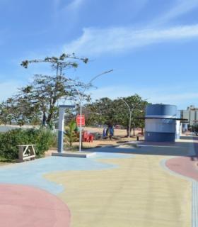 Em Castelhanos, obras de revitalização seguem na reta final