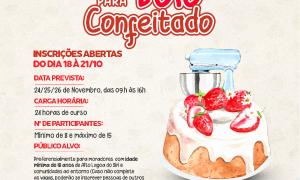 Prefeitura de Marataízes abre Inscrições para curso de Bolo Confeitado