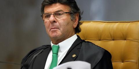 Em cerimônia de posse no STF, Luiz Fux citará combate à corrupção