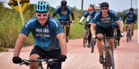 Participantes do Pedal Missão Jesuíta 24 horas serão recebidos em Anchieta