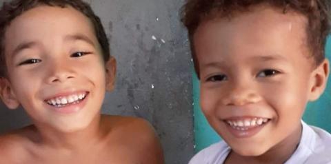Ligação clandestina de energia pode ter causado incêndio que matou irmãos de 5 e 6 anos