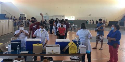 Itapemirim: Vacinação contra Covid-19 alcança 2,5 mil jovens com 18 anos ou mais