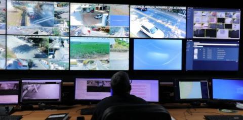 Videomonitoramento ajuda no combate ao crime em Marataízes