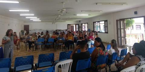 Marataízes promove encontro de Diretores, Coordenadores e Inspetores da Rede Municipal de Educação