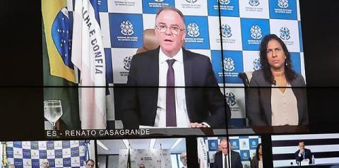 Espírito Santo registra primeiros casos de transmissão comunitária do novo Coronavírus, diz governador
