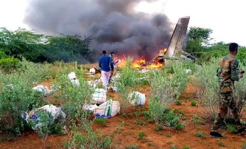 Acidente com avião da Embraer deixa seis mortos na Somália