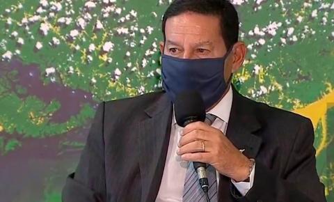 Contraprova de Mourão para coronavírus dá negativo e ele volta ao trabalho nesta quarta, diz governo
