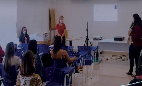 Profissionais da Secretaria Municipal de Saúde de Marataízes fazem treinamento para atuar no Inquérito Sorológico