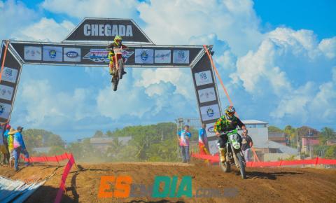 Sucesso de público na 2ª etapa da Copa Litoral Unificada de MotoCross e SuperCross em Marataízes