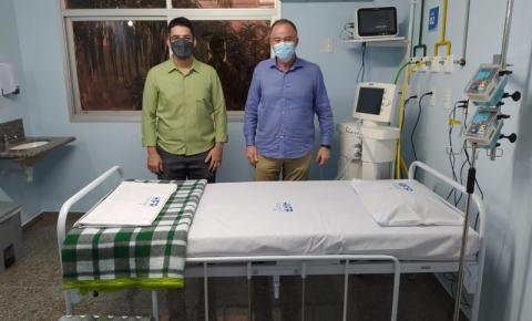 Cachoeiro ganha mais 60 leitos para tratamento de pacientes infectados pela Covid