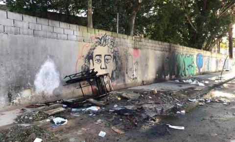 Morador de rua morre queimado em Vitória