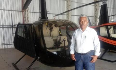 Pré-candidato a prefeito de Alegre quer comprar helicóptero para a Prefeitura