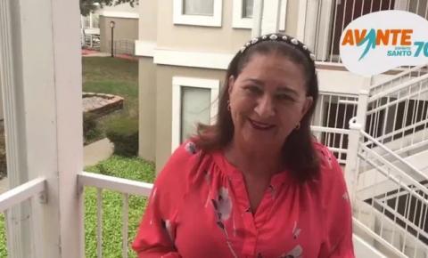 Ex-deputada volta ao Brasil para ser pré-candidata em Guaçuí