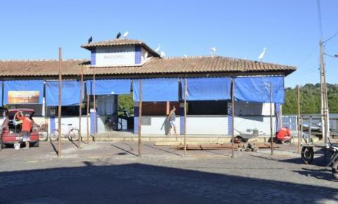 Mercado Municipal de Peixes de Anchieta continua com atendimento durante obras
