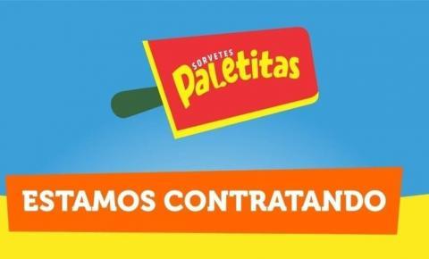 Paletitas contrata auxiliar administrativo em Piúma