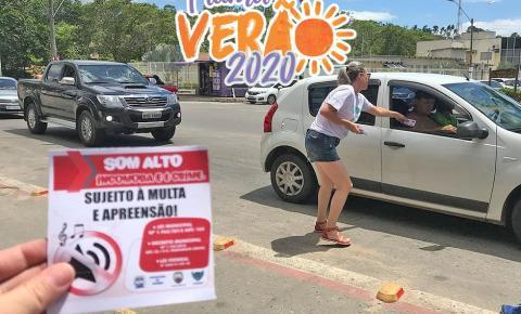 Prefeitura de Piúma mantém fiscalização de som automotivo