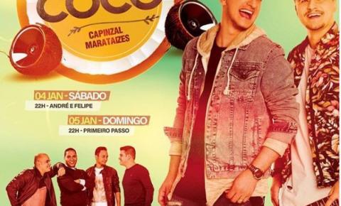 7ª Festa do Coco é neste final de semana em Capinzal