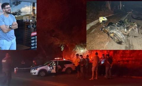 Comerciante de Anchieta morre em acidente de moto em Baixo Pongal