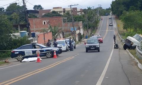 TRAGÉDIA: Homem morre atropelado pelo próprio caminhão do Sul do ES