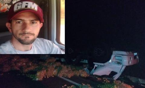 Caminhoneiro cachoeirense morre em acidente no interior de MG