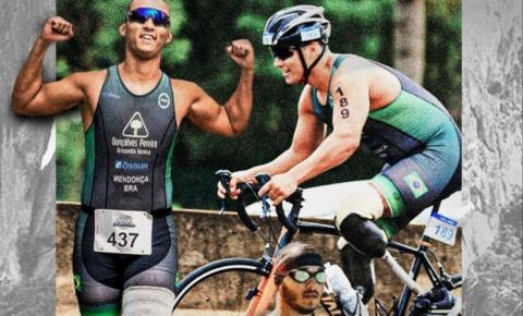Triatleta é exemplo de vida e superação após perder as duas pernas