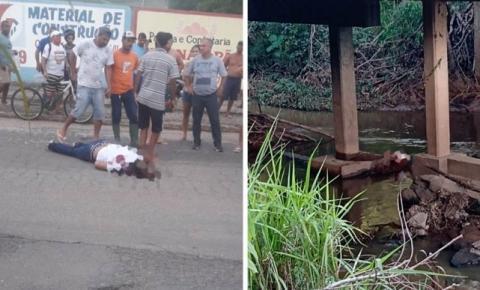 Dois homens são assassinados no meio da rua em Atílio Vivácqua