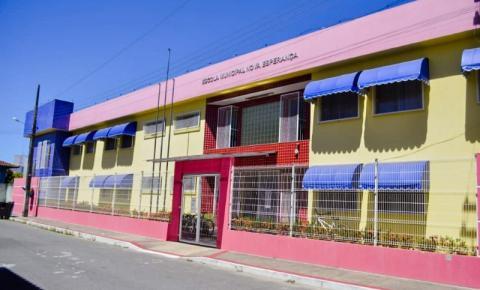 Anchieta: Concluídas as obras de reforma da escola e quadra de Nova Esperança
