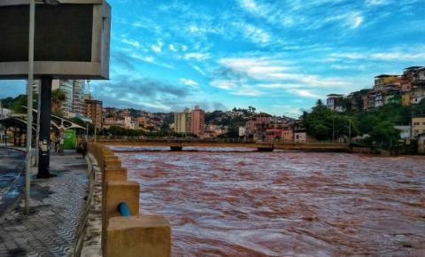 Rio Itapemirim está 2,2 metros acima do nível normal: Defesa Civil emite alerta
