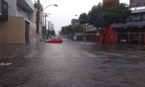 Chuva no ES: cidades registram mais de 100mm em 24 horas e 55 pessoas estão desalojadas