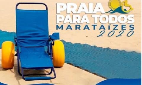 Pessoas com deficiência irão aproveitar o verão 2020 de Marataízes, por meio do projeto