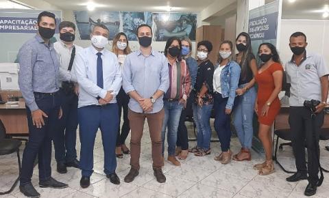 Câmara Municipal de Marechal Floriano visita Sala do Empreendedor de Marataízes