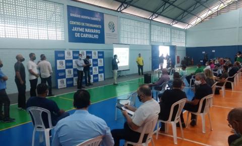 Marataízes participa de reunião para Plano de Trabalho do Esporte capixaba