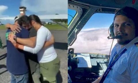 VÍDEO | Piloto desaparecido há 36 dias é resgatado com vida em mata no PA