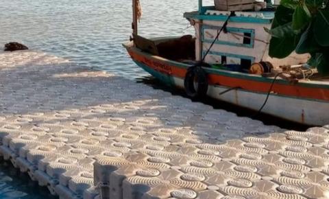 Pescadores da Barra e Pontal ganham 6º pier flutuante