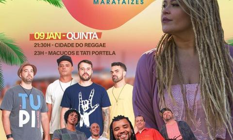 Macucos e Cidade do Reggae se apresentam hoje(09) em Marataízes