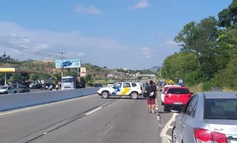 VÍDEO | Acidente com vitima fatal em Morro Grande, Cachoeiro de Itapemirim