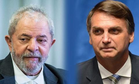 Pesquisa diz que Lula teria 49% dos votos totais e venceria em 1º turno; Bolsonaro teria 23%