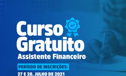 Prefeitura oferece curso gratuito de Assistente Financeiro