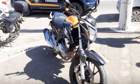GCM recupera moto roubada e prende suspeito de receptação